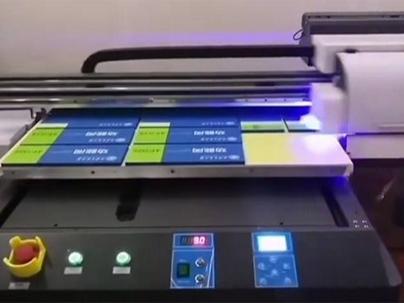 山西的客户订购UV打印机