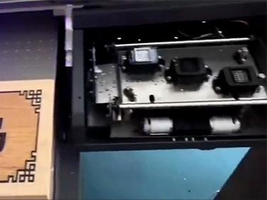 秦皇岛的客户对MyColor UV6090打印机效果很满意!!