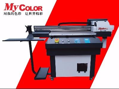 UV平板打印机多色和特殊浮雕效果打印原理