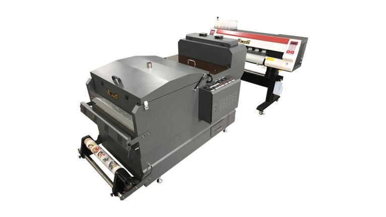 金蝶TY700烫画膜打印机&DF700抖粉机